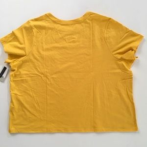 BP. Tops - NWT BP. T-Shirt 3X 💛 Yellow Whip 💛
